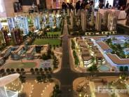 郑州万科大都会商铺, 地铁口 5万常万人口