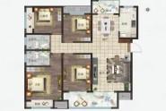 139㎡ 4室2厅2卫1厨