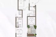 88.64㎡两室两厅一卫