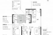 108.48㎡三室两厅两卫