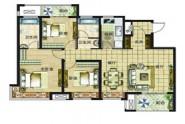 E户型典藏三房125㎡三室两厅两卫